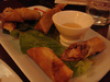 Thai Vegetarian Spring Rolls with Glass Noodles